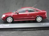 Macheta Opel Astra G coupe Minichamps 1:43