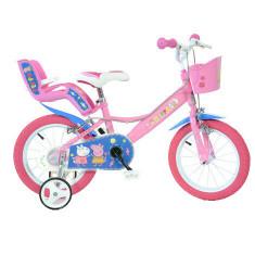Bicicleta copii 14 Purcelusa Peppa