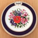 Farfurie - de colectie - port. englezesc - Aynsley - Chelsea Flower - 1986