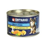 Conservă ONTARIO Pește și ulei de somon – 200g
