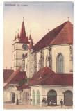 5143 - SEBES ALBA, Church, Romania - old postcard - unused