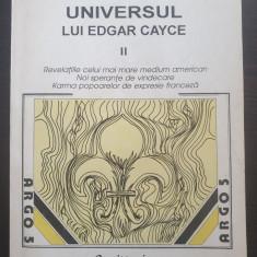 UNIVERSUL LUI EDGAR CAYCE - Dorothee Koechlin de Bizemont (volumul II)