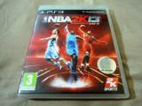 NBA 2k13, PS3, original, alte sute de jocuri, Sporturi, 3+, Multiplayer, 2K Games