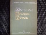 Dictionar Spaniol-roman - Alexandru Calciu, Zaira Samharadze ,550289