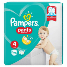 Scutece Pampers Active Baby Pants 4 Carry Pack, 24 buc/pachet