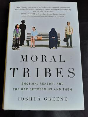 Moral Tribes - Joshua Greene, The Penguin Press, 2013, 422 pag foto