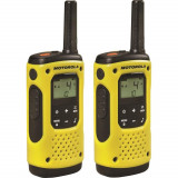 Cumpara ieftin Resigilat : Statie radio PMR portabila Motorola TLKR T92 H2O IP67 set cu 2 buc Gal
