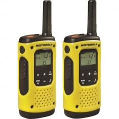 Resigilat : Statie radio PMR portabila Motorola TLKR T92 H2O IP67 set cu 2 buc Gal