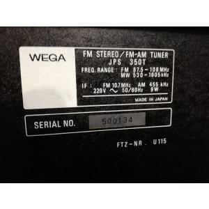 Linie: Amplificator +Tuner - SONY - WEGA JPS350V/350T - Vintage/Japan/Impecabil