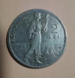 SV * Romania 2 LEI 1914 * ARGINT .835 * Regele Carol I