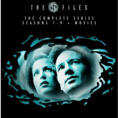 FILM SERIAL The X Files - Complete Season 1-9 [ 54 DVD ] BoxSet Sigilat