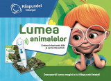 Carte interactiva Lumea animalelor