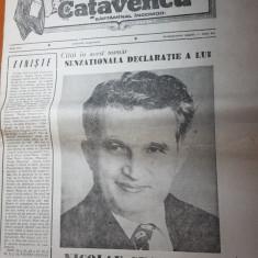 ziarul catavencu anul 1,nr.16/1990