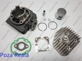 Kit Cilindru - Set Motor + Chiuloasa Scuter Malaguti Crosser 49cc - 50cc