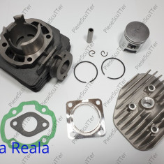 Kit Cilindru - Set Motor + Chiuloasa Scuter Suzuki Zilion 49cc - 50cc