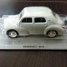 macheta renault 4cv deagostini masini de legenda polonia - scara 1/43, noua.