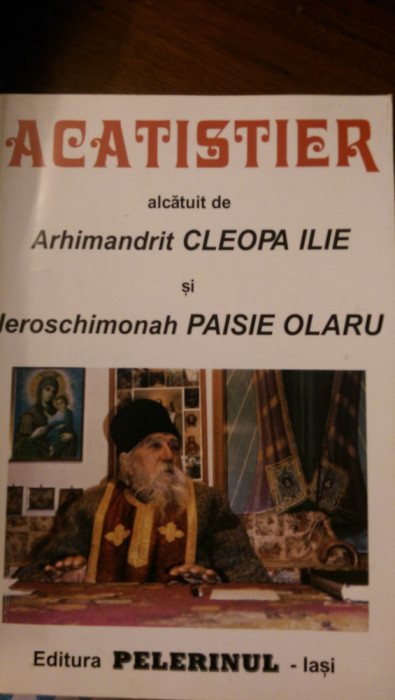Acatistier Arhimandrit Cleopa Ilie, Ieroschimonah Paisie Olaru 1996