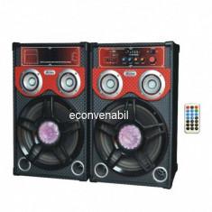 Boxe Active Audio cu Bluetooth, Radio FM si USB 70W Ailiang 298E 298F