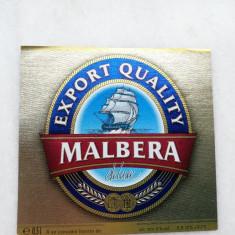 Eticheta Bere MALBERA -Deluxe - Constanta .