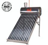 Sistem Panou Solar cu Tuburi Vidate SP-470-58 INOX / Vt[l]: 135; Vr[l]: 100; T[buc]: 12; D[mm]: 58; L[mm]: 1800, Evotools