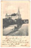 SV * Hunedoara * CASTELUL CORVINILOR / HUNIAZILOR / CETATEA MEDIEVALA * 1903, Circulata, Fotografie, Printata