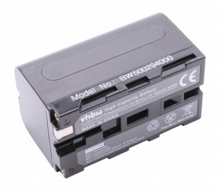Acumulator pentru sony wie np-f750, ,