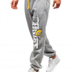 Pantaloni de trening bărbați gri Bolf Q3240