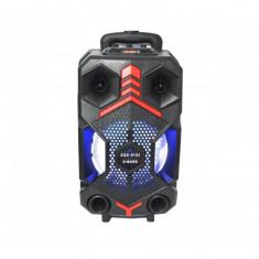 Boxa portabila 100w PMPO tip troler ZQS-8102 X-BASS, bluetooth + microfon