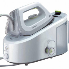 Statie de calcat Braun IS3022WH CONTROL LOCK REMOVABLE, 2400W, 2.0L, 330g/min, 5.5 bari ,Alb/Gri