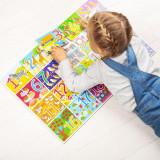 Puzzle de podea cu numere (20 piese) PlayLearn Toys, Bigjigs