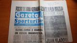 gazeta sporturilor 1 noiembrie 1994- jean vladoiu jucatorul etapei,ilie nastase