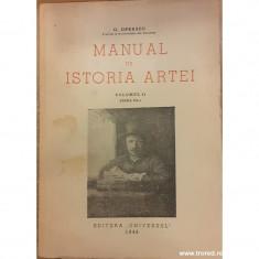 Manual de istoria artei volumul 2
