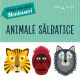 Animale sălbatice. Prima mea carte Montessori