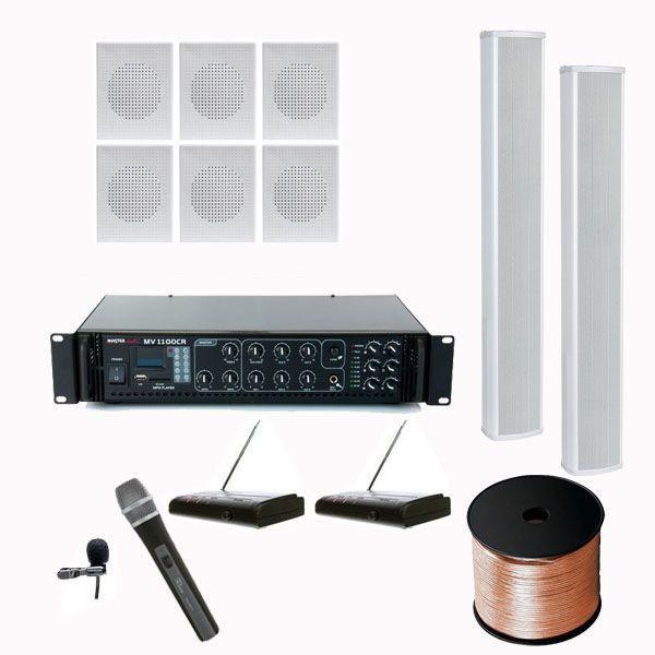 Biserica A14 - Sistem sonorizare biserica 120W