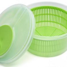 Uscator salata Vanora VN-TH-612-V, Plastic, 20.5 cm Verde, roz, albastru