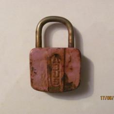 GE - Lacat vechi inchis fara cheie ABUS