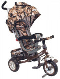 Tricicleta multifunctionala Sunny Steps Vip Camouflage