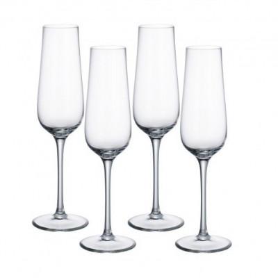 Pahar sticla cristalizata sampanie 0.27 l purismo, cod 224209 foto