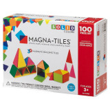 Magna-Tiles Solid Colors set magnetic - 100 piese