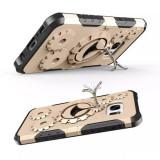 Samsung Galaxy J5 PRIME - Husa Antisoc Gold Gear Design Cu Suport