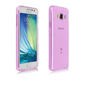 Husa SAMSUNG Galaxy A3 (2015) A300F - Ultra Slim (Roz Transparent)