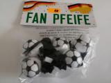 Set 5x Fluier minge de fotbal