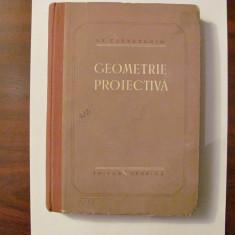 "GE - N.F. CETVERUHIN ""Geometrie Proiectiva"""