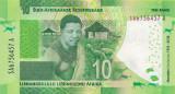 Bancnota Africa de Sud 10 Rand 2018 - PNew UNC ( SERIE NOUA - centenar Mandela )