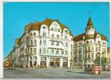 bnk cp Oradea - Palatul Vulturul Negru - circulata - marca fixa