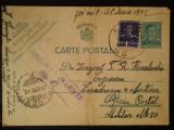 1942-C.P.circ.-CENZURAT-Ploiesti 27, Necirculata, Printata