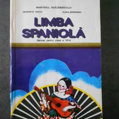 GEORGETA VANTIU - LIMBA SPANIOLA (1997, clasa a VIII-a)
