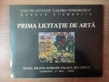 """CASA DE LICITATIE """"GALERIA NUMISMATICA"""" PRIMA LICITATIE DE ARTA , 2008"""