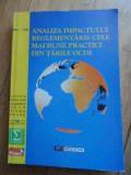 Analiza Impactului Reglementarii Cele Mai Bune Practici Din T - Colectiv ,536886