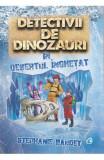 Cumpara ieftin Detectivii de dinozauri in desertul inghetat. A treia carte, Curtea Veche